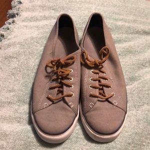 Sperry gray slip-on sneakers 8.5